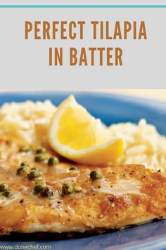 Delicious all-in-one Tilapia in batter dish. This dish requires only 30 minutes of cooking time in total, so it is perfect for those who are running out of time. Seasoning For Fish, Tilapia Fish Recipes, Broken Egg, Chicken Eggs, The Dish, Cooking Time, Stuffed Peppers, Dishes, Running