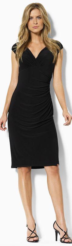 Ralph Lauren ● Lauren ● Gathered Empire-Waisted Dress