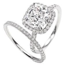 Harry Winston's diamond rings