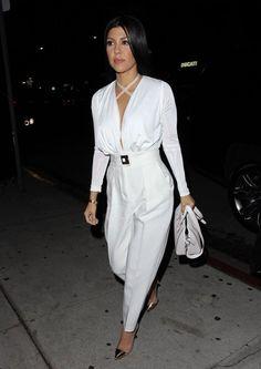 Kourtney Kardashian Photos: Kourtney Kardashian Enjoys a Night out at The Nice Guy
