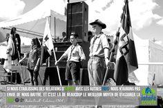 Si nous établissons des liens d'amitié avec les autres pays, nous n'aurons pas envie de nous battre. Et c'est là de beaucoup le meilleur moyen d'assurer la paix Baden Powell - Éclaireurs 1908 #citation #scout #photo