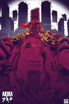 Tetsuo - Akira by ShonenStall