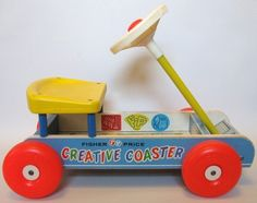 "Kids back in the day zoomed around on ""Creative Coasters"" instead of Power Wheels."