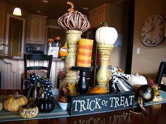cute halloween decorations | Tons of cute ideas for decorating for Halloween! | fall