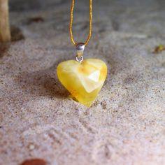 AMBER PENDANT Genuine butterscotch Baltic amber от BalticAmberCity