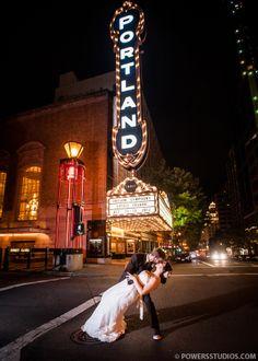Krysta & Sean { The West End Ballroom }- Portland, Oregon Wedding Photography Blog   Powers Photography Studios