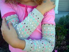 baby leggings or arm warmers