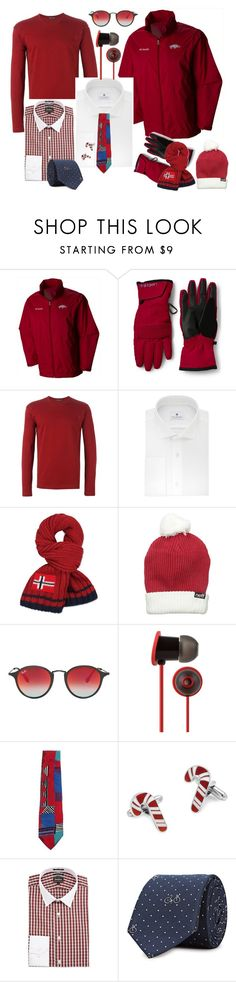"""""""Last Minute....gifts for him!!!"""" by sandjpopescu ❤ liked on Polyvore featuring Columbia, Lands' End, Issey Miyake, Ryan Seacrest Distinction, Napapijri, Neff, Ray-Ban, Moshi, Oscar by Oscar de la Renta and Neiman Marcus"""