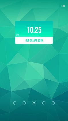 Check out my Materialuth Zooper Widget app! https://play.google.com/store/apps/details?id=com.izygfx.zwskin.materialuth #zooper #widget #clock #android #material #flat