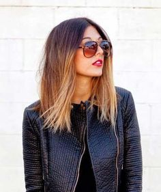 10 long bob ombre hair from brown to almost blonde - Styleoholic