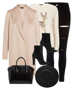 """""""Untitled #2930"""" by theaverageauburn on Polyvore featuring River Island, Dorothy Perkins, The Row, Gianvito Rossi and Givenchy"""