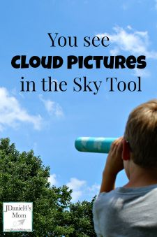 You see Cloud Pictures in the Sky Tool