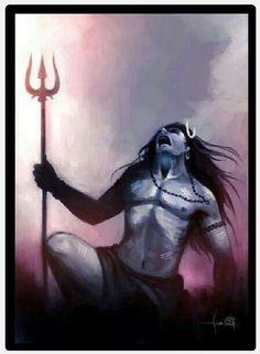 Angry Shiva..
