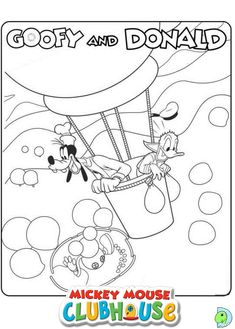 Mickey Mouse Clubhouse Printable Coloring Pages Free Picture 11