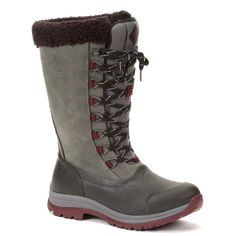 Muck Boot Women's Arctic Apres Lace Tall Boot | The Cheshire Horse