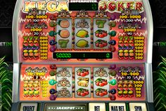 NetEnt presents you the king of classic fruit slots! Mega Joker has 3 reels,5 paylines and two gaming areas. You start at the bottom screen, then after filling the supermeter, you move on to the top reels, where you can win even greater prizes!