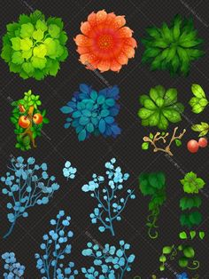 Image result for handpainted plants