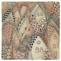 renaissance zentangle tiles - Google Search