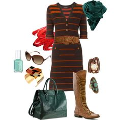 """""""Easing Into Fall"""" by dooce on Polyvore"""