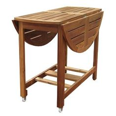 Merry Products Round Folding Table