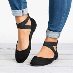 Women sneakers elastic bandage flat shoes sneakers women summer slip on flat sho. - - Women sneakers elastic bandage flat shoes sneakers women summer slip on flat shoes women plus size loafers walking Source by annegodonou Shoes 2018, Prom Shoes, Wedding Shoes, Beige Shoes, Black Shoes, Lace Up Shoes, Black Suede, Business Outfit Frau, Business Shoes