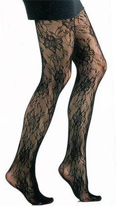 874159887 Plus Size Acapulco Textured Fashion Tights by Foot Traffic Lace Tights