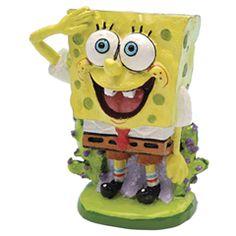 Sponge Bob Square Pants Spongebob Square Pants Aquarium Ornament  The Spongebob Square Pants Aquarium Ornament is a fun and funky aquarium ornament, ideal for a child  http://www.comparestoreprices.co.uk/pet-products/sponge-bob-square-pants-spongebob-square-pants-aquarium-ornament.asp