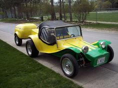 VW DUNE BUGGY. This is an option for those romantic getaways when we are retired.