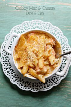 {Recipe: Crab Mac And Cheese} - dineanddish.net