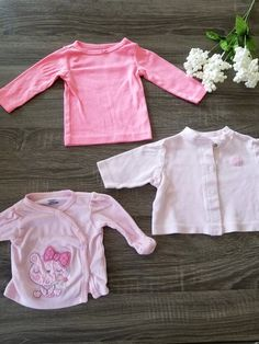 e915b36fb 3 piece baby clothing set long sleeve various sizes - 3 piece Baby clothing  set Long sleeve Various sizes Hot pink - just one you 6 months old Pink-  Gerber ...