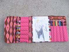 This is SUPPOSED to be an art packet for kids... but... I see some artist pencils and a monogrammed front and I would most definitely use it. :)
