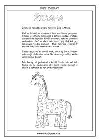 Žirafa - encyklopédia zvierat