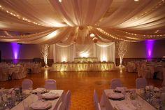 reception decor #wedding
