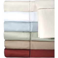 Veratex Legacy Collection 500-Thread Count Bedding Sheet Set, Blue