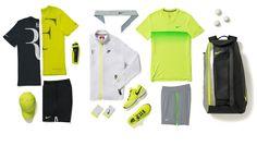 Roger Federer habillé pour l'Open d'Australie. Le Suisse sera visible de loin à Melbourne Park