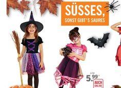 Lidl: Halloween-Spezial mit Kostümen, Süßem und Saurem https://www.discountfan.de/artikel/c_discounter/lidl-halloween-spezial-mit-kostuemen-suessem-und-saurem.php Süßes und Saures gibt's bei Lidl ab dem 20. Oktober zu Schnäppchenpreisen: Der Discounter bietet zahlreiche Artikel rund um Halloween. Neben Kostümen sind auch LED-Anstecker, Kürbisse mit Schnitzvorlage und Popcorn im Angebot. Lidl: Halloween-Spezial mit Kostümen, Süßem und Saurem (Bild: Li... #H