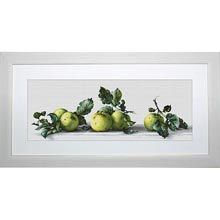 Luca Still Life with Apples Counted Cross-Stitch Kit
