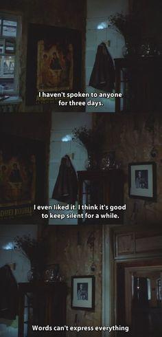 "(make that 3 weeks.) from ""Zerkalo"" (Film; 1975) (dir. Andrei Tarkovsky):"