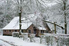 Irma Haarman Pijnen uit Denekamp maakte woensdag deze mooie foto bij het Jan Wesselinkhoes, een oud Saksisch Los Hoes dat aan de Puntbeek vlak achter het prachtige natuurgebied het Lutterzand ligt.