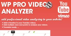 Deals WP Pro Video Analyzerlowest price for you. In addition you can compare price with another store and read helpful reviews. Buy