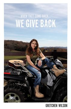 Country Music Singer/Songwriter Gretchen Wilson IN HER BOOTS | Flickr - Photo Sharing!