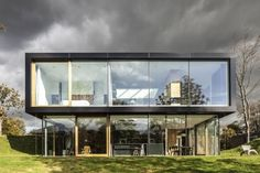 Another view of Villa V, The Netherlands by Paul de Ruiter Architects