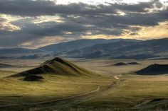 Mongolian steppe                                                                                                                                                                                 More