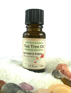 Tea Tree Oil. 100% Pure Australian essential oil from Nature's Finds. A great gift idea or stocking filler.