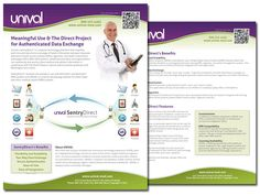 We developed an identity and a #salesbrochure for UNIVAL which helps to transport medical and patient information quickly between healthcare providers, laboratories, etc. in compliance with all security regulations. #UNIVAL #healthcare #information #technology www.clarityqst.com