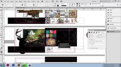 Adobe InDesign CS6 - Interior Design Portfolio - Part 11 - Text Wrap - B...