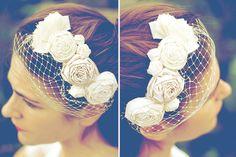 Tocados de novia | azulmostaza.com