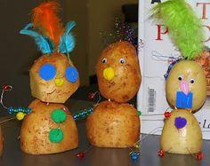 Our Worldwide Classroom: Picture Book Fun: The Potato People Halloween Activities, Book Activities, Potato People, Picture Story Books, Art For Kids, Crafts For Kids, Kid Picks, Crafts With Pictures, Author Studies