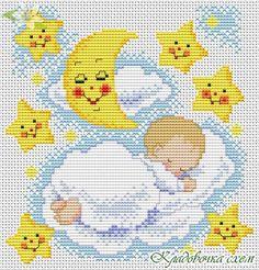 вышивки крестом baby - Pesquisa Google
