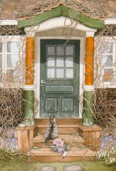 Inge Look ~ Finnish artist born in Helsinki in 1951